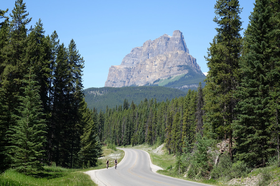 Formation viewed from Bow Valley Park Way