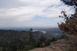 View of Horsetooth Reservoir and Fort Collins