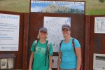 Addie and Valerie at Horsetooth Rock trail head