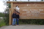 """Denali National Park and Preserve """"Welcome"""" Sign"""
