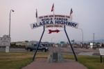 Picture of Alaska Highway, Mile 0 sign