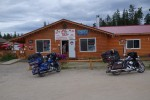 Picture at campground in Watson Lake, Yukon Territory