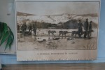 Picture of Hearse drawn by sled dogs